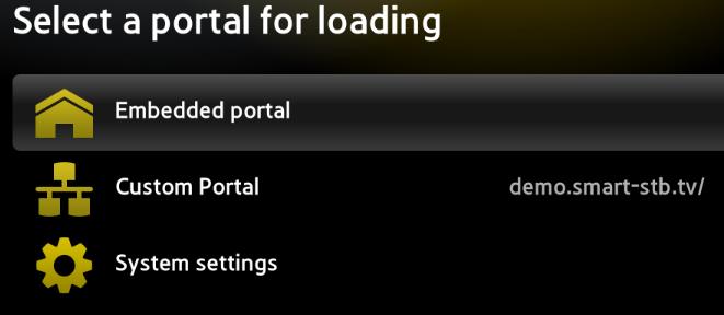 Smart-STB net | App stuck on Loading Portal (App freezing on