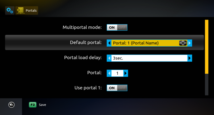 How to add/change the Portal or m3u Playlist - Knowledgebase