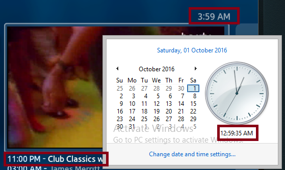 Smart-STB net | Incorrect Date and Time displayed in Portal