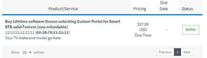 Smart stb free activation code generator